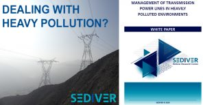 Management of transmission power lines in heavily polluted environments - Sediver