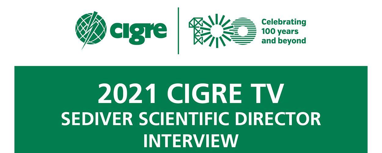CIGRE 电视台 – 对塞迪维尔科技总监的采访 - Sediver