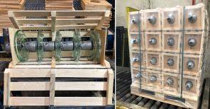 Packing & Handling of Toughened Glass Insulators - Sediver