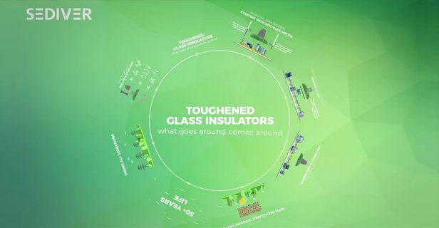 Isolateurs en verre trempé, une économie circulaire efficace - Sediver