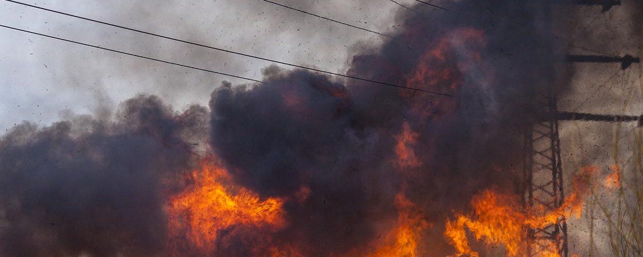 Vous faites face à un risque d'incendie ? Choisissez des isolateurs en verre trempé - Sediver